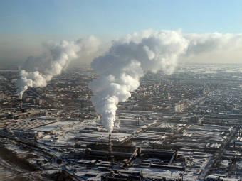Вид на Новосибирск. Фото РИА Новости, Сергей Мамонтов