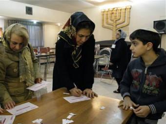 Голосование на выборах в Иране. Фото ©AP