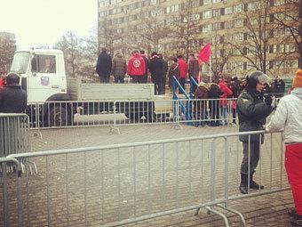 Митинг КПРФ в Новопушкинском сквере. Фото @Vorewig
