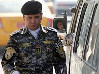 Иракский полицейский. Фото ©AFP