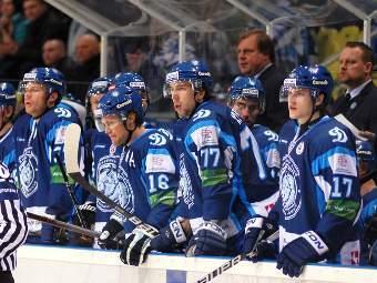 """Хоккеисты минского """"Динамо"""". Фото с официального сайта клуба"""