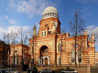 Большая Хоральная синагога в Санкт-Петербурге. Фото с сайта skyscrapercity.com