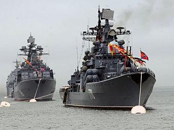 Корабли Тихоокеанского флота. Фото с сайта navyclub.ru