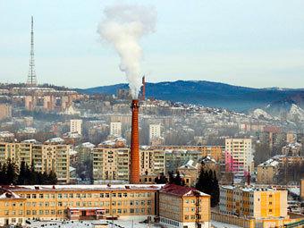 Златоуст. Фото с сайта chelyabinsk.ru