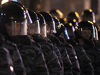 ОМОН на Пушкинской площади 5 марта 2012 года. Фото РИА Новости, Владимир Астапкович