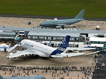Экспозиция EADS на авиасалоне в Ле Бурже. Фото пресс-службы компании
