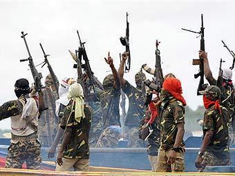 Нигерийские боевики. Фото ©AFP, архив