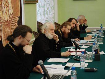 На заседании ученого совета Московской духовной академии 12 марта. Фото с сайта академии