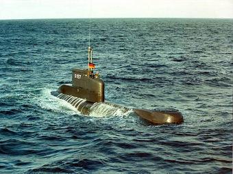 Подводница Type 206A на ВМС на германия (Фото от сайта militaryphotos.net)