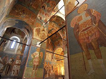 Фрески Дионисия в Ферапонтовом монастыре. Фото РИА Новости, Алексей Куденко
