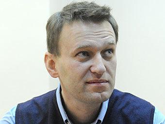 Алексей Навальный в здании суда. Фото ИТАР-ТАСС, Митя Алешковский