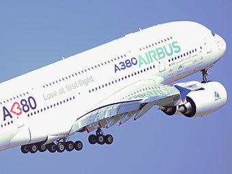 "Airbus A380. Фото ""Ленты.ру"""