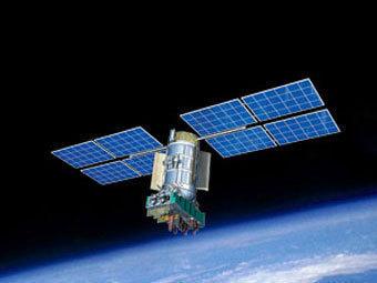 Спутник ГЛОНАСС-М. Изображение с сайта roscosmos.ru