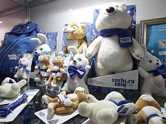 «Спортмастер» начал продажу товаров с символикой олимпиады 2014 в Сочи.