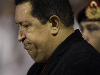 Уго Чавес после возвращения в Венесуэлу. Фото ©AP