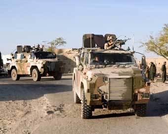Bushmaster. Фото с сайта www.defenseindustrydaily.com