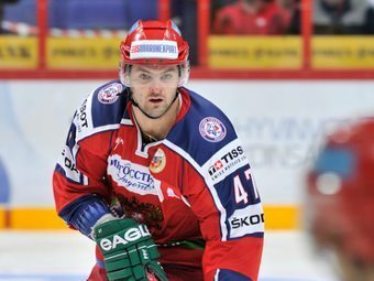 Александр Радулов. Фото с официального сайта Федерации хоккея России