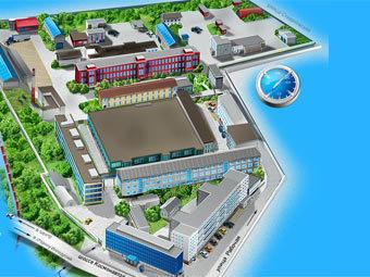 "Здания компании ""Морион"". Фото с официального сайта"