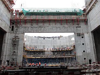 Строительство второй сцены Мариинского театра. Фото РИА Новости, Алексей Даничев
