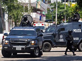 Мексиканские полицейские. Фото ©AFP