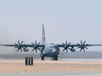 C-130H (Фото от сайта af.mil)