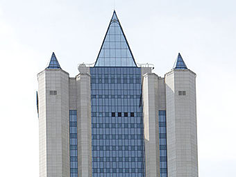 "Офис ""Газпрома"". Фото ""Ленты.ру"""