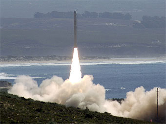 Испытания наземного комплекса ПРО США. Фото с сайта mda.mil