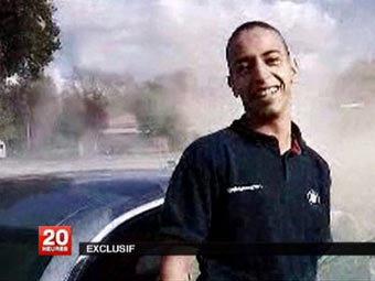 Мохаммед Мера. Кадр видеозаписи, переданный ©AFP