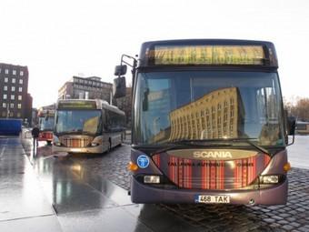 Жители Таллина согласились на бесплатный общественный транспорт.  Таллинский автобус.  Фото с сайта мэрии.