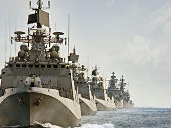 Кораби на ВМС на Индия (Фото от сайта indiannavy.nic.in)