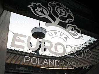 Эмблема Евро-2012. Фото Reuters