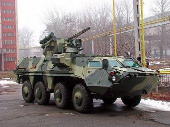 БТР-4Е с оръдие ЗТМ-1 (Фото от сайта iraqimilitary.org)