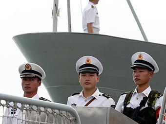 Учение ВМС Китая. Фото Reuters