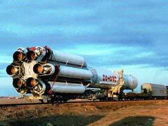 """""""Протон-К"""" (Фото от сайта khrunichev.ru)"""