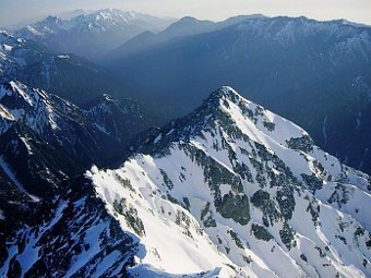 Горы Хида, известные также как Японские Альпы. Фото alpsdake