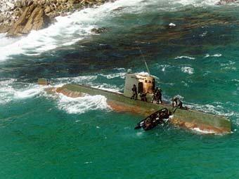 """Подлодка типа """"Сан-О"""". Фото с сайта globalsecurity.org"""