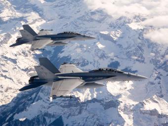 F/A-18 Super Hornet (снимка от сайта boeing.com)