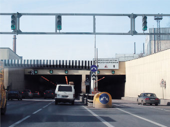 Лефортовский тоннель. Фото с сайта torels.ru