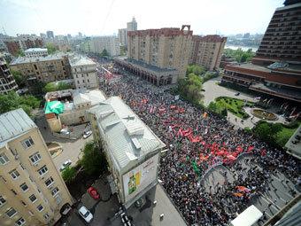 """""""Марш миллионов"""". Фото РИА Новости, Владимир Песня"""