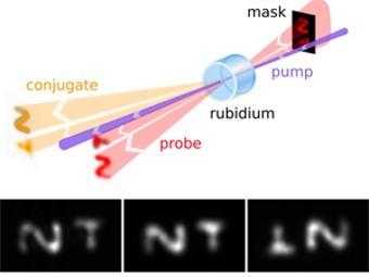 Изображения в газообразном рубидии. Иллюстрация с сайта NIST