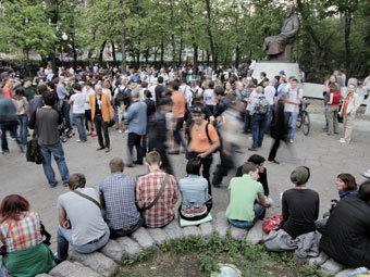 Полиция ликвидировала лагерь «ОккупайАбай»