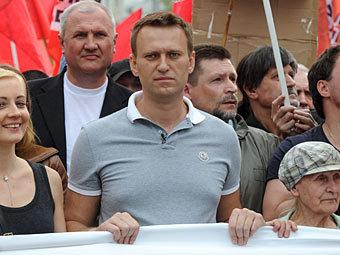 """Алексей Навальный на """"Марше миллионов"""" 6 мая. Фото РИА Новости, Илья Питалев"""