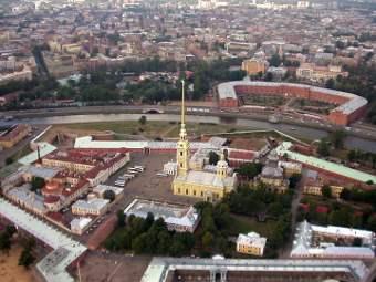Заячий остров. Фото пользователя Ssr с сервиса ru.wikipedia.org
