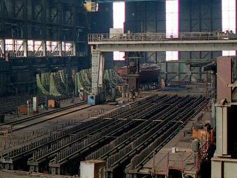 """""""Северная верфь"""". Фото прессслужба на корабостроителницата"""