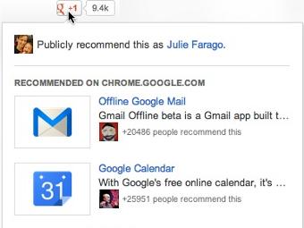 Кнопка +1 от Google начнет рекомендовать страницы