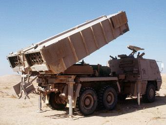 РСЗО Astros. Фото с сайта wikipedia.org