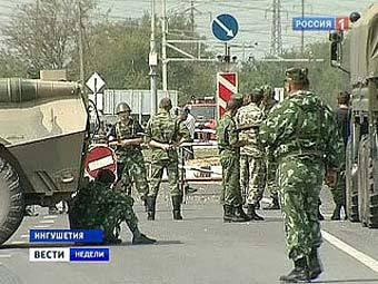 """Среди задержанных боевиков в Ингушетии оказался глава """"назрановской"""" бандгруппы"""