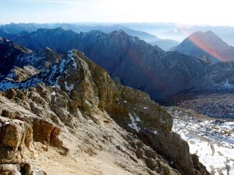 Баварские Альпы. Фото Reuters