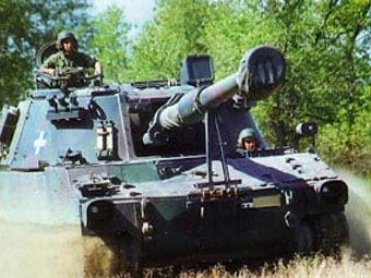 M109A5. Фото от сайта infodefensa.com