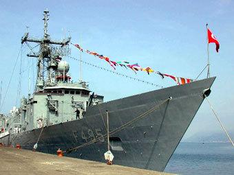 Турецкий фрегат Gediz. Фото с сайта worldbulletin.net